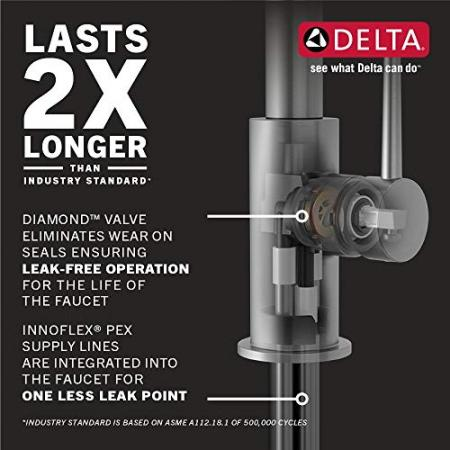 Delta-Faucet-Trinsic-Single-Handle-Touch-Kitchen-Sink-Faucet-with-Pull-Down-Sprayer-Touch2O-Technology-and-Magnetic-Docking-Spray-Head-Champagne-Bronze-9159T-CZ-DST-0-3